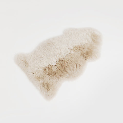 Single Sheepskin - Dark Linen