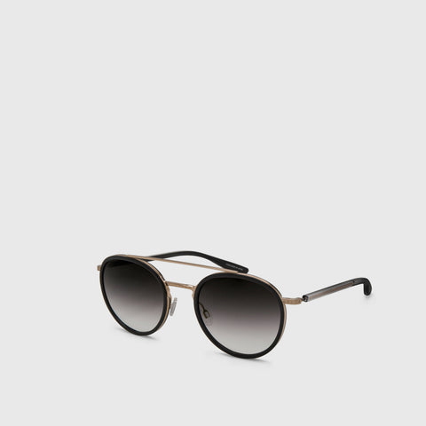 Justice Sunglasses - Black / Gold