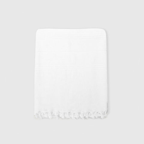 Turkish Bath Towel - White