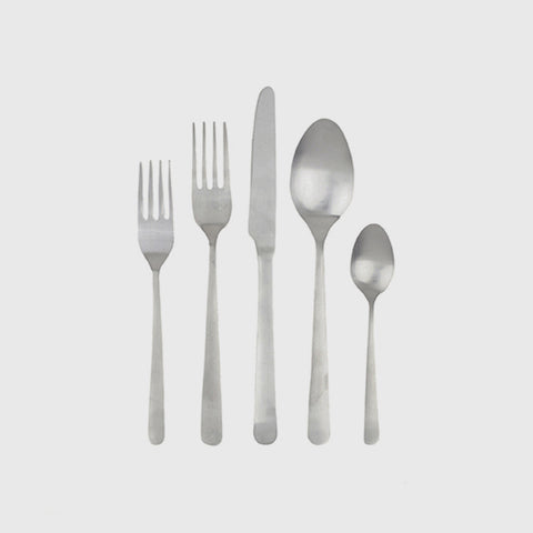 Oslo Cutlery Set of 4 - Stainless Steel