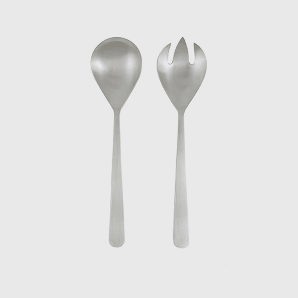 Oslo Salad Server - Stainless Steel