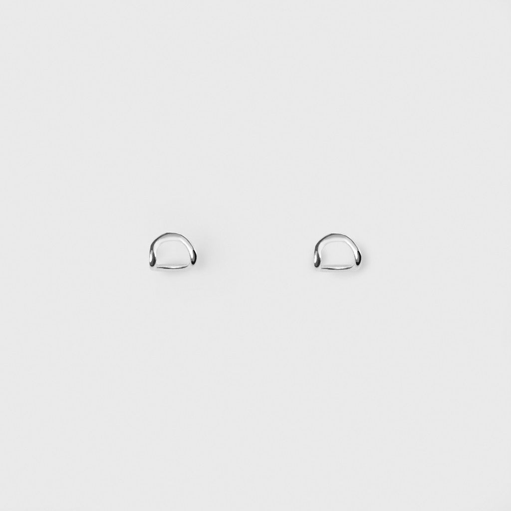 Doblada Earrings - Sterling Silver