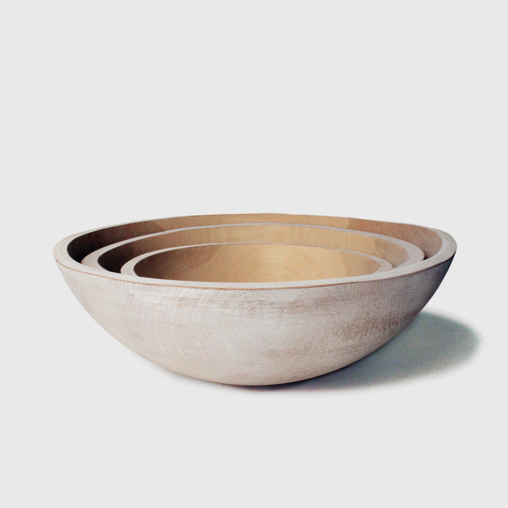 Beech Wood Peasant Bowl