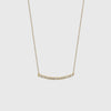 Mini Axis Necklace - 14K Yellow Gold