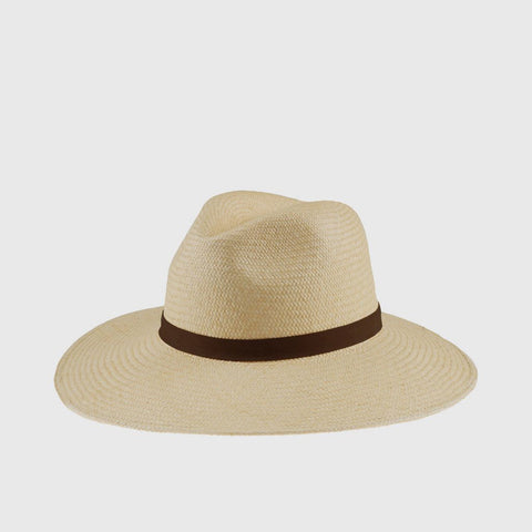 Gloria Straw Hat - Natural