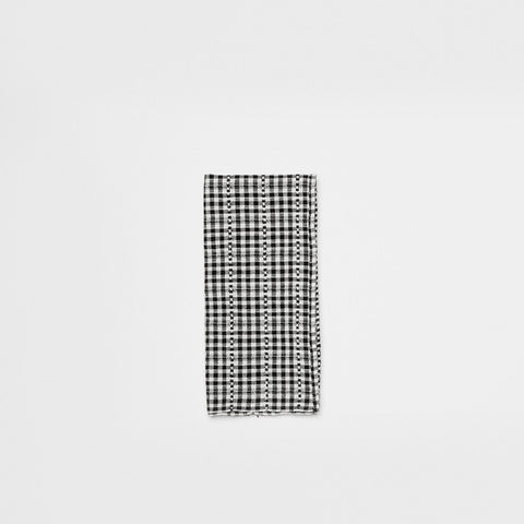 Soho Napkin - Black/White