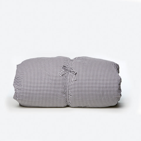 Gingham Throwbed - Black