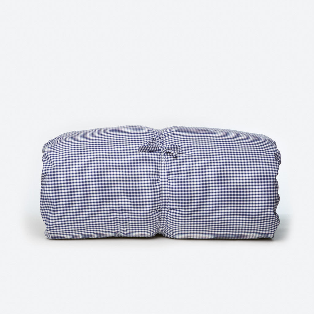 Gingham Throwbed - Royal Blue