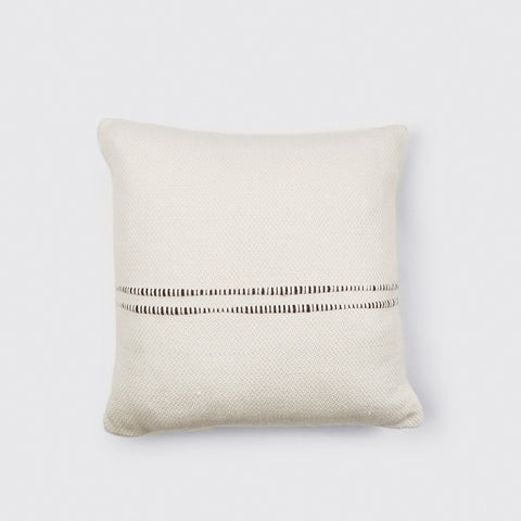 Brown Striped Pillow - 24 x 24""