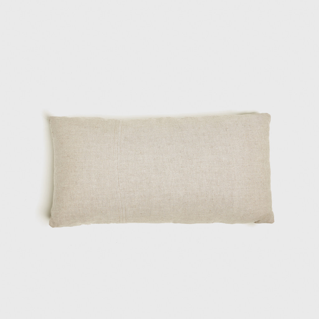 Linen Lumbar Pillow - Natural