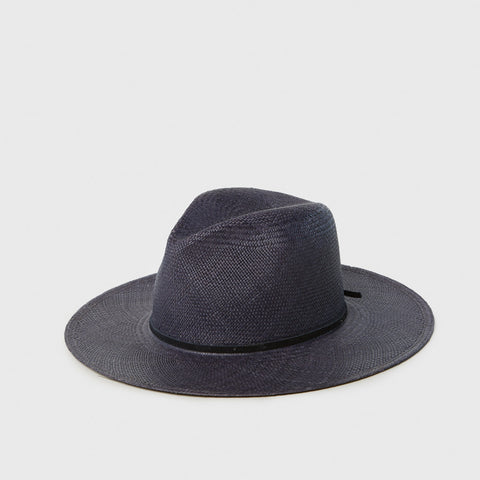 Morgan Panama Hat - Navy