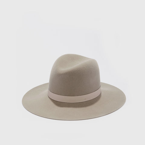 Ava Wool Hat - Pebble - Final Sale