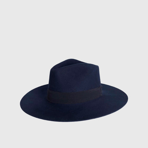 Emina Wool Felt Hat - Navy - Final Sale