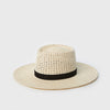 Maxime Telescope Panama Hat - Natural