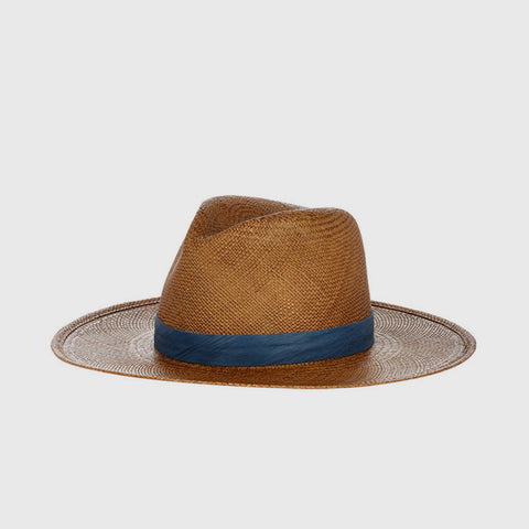 Panton Straw Hat - Brown - Final Sale