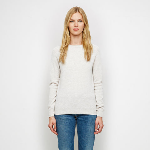 Cashmere Raglan Sweater - Ivory - Final Sale