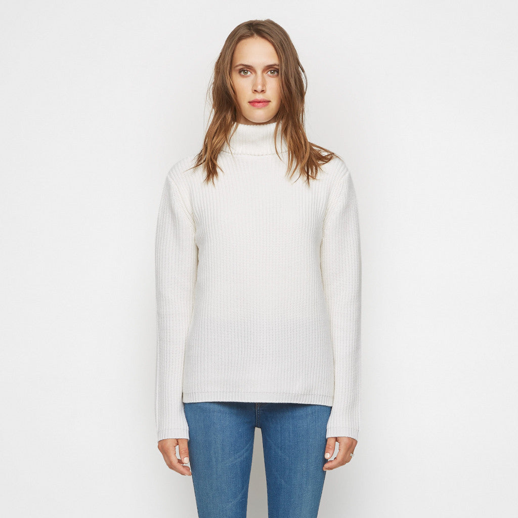 Cashmere Turtleneck - Ivory