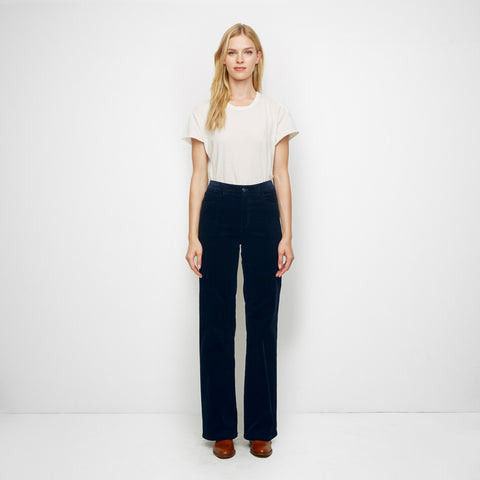Corduroy Birkin Pant - Navy - Final Sale