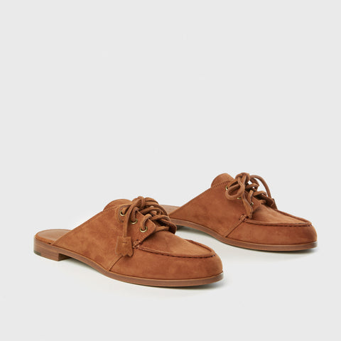 Deck Shoe - Saddle Suede
