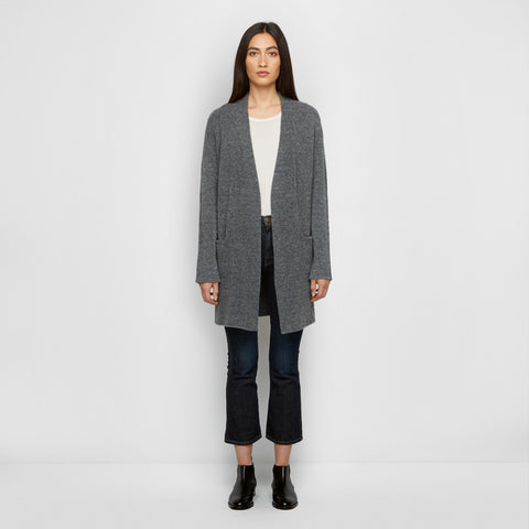 Yak Sweater Coat - Grey