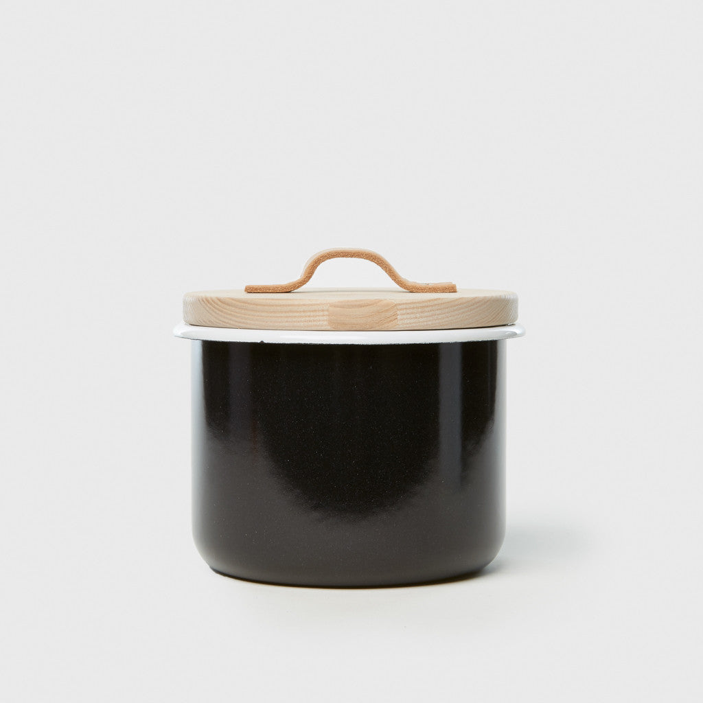 Large Container & Ash Lid - Pepper Black