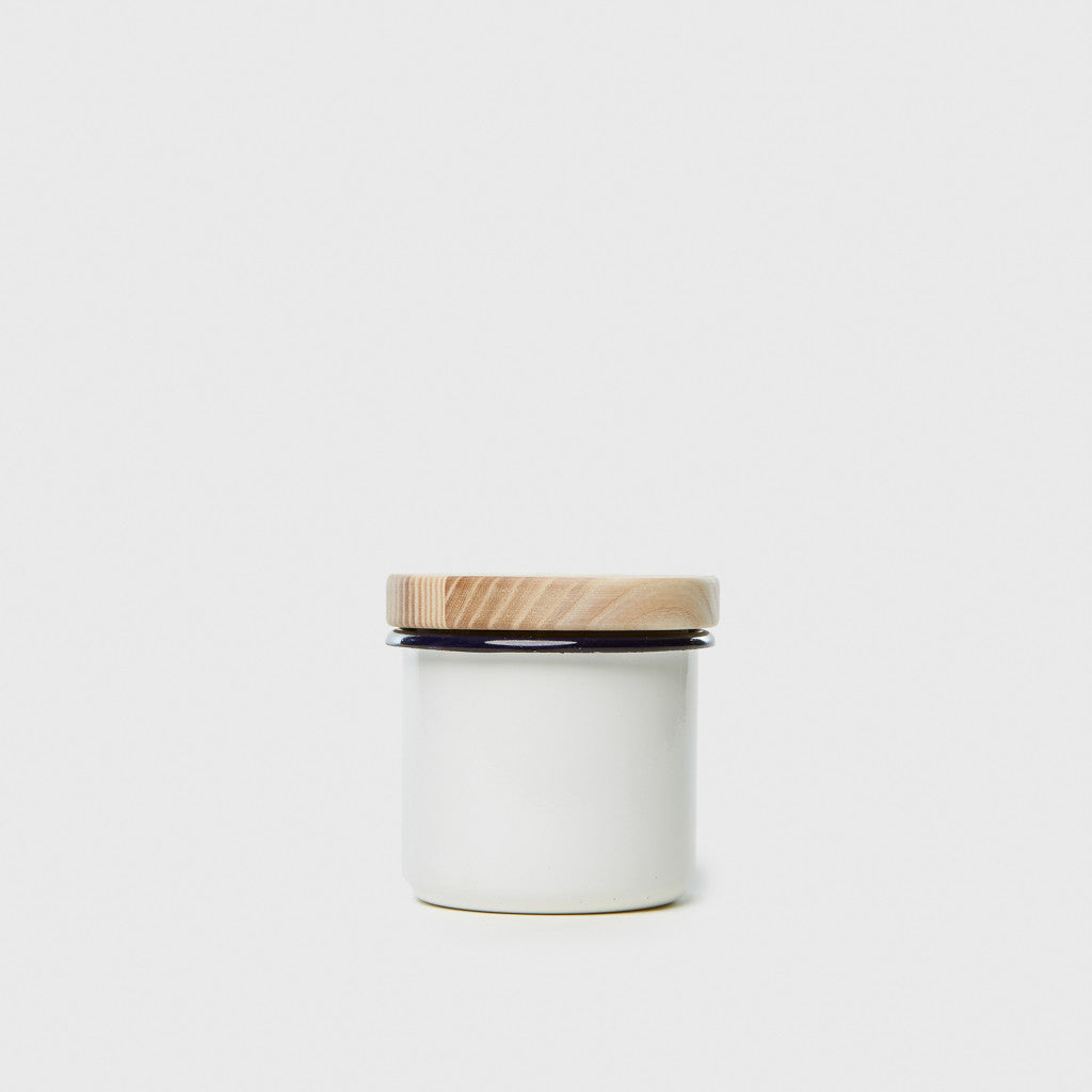 Small Container & Ash Lid - Milk White