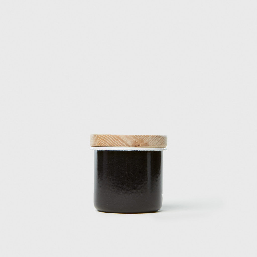 Small Container & Ash Lid - Pepper Black