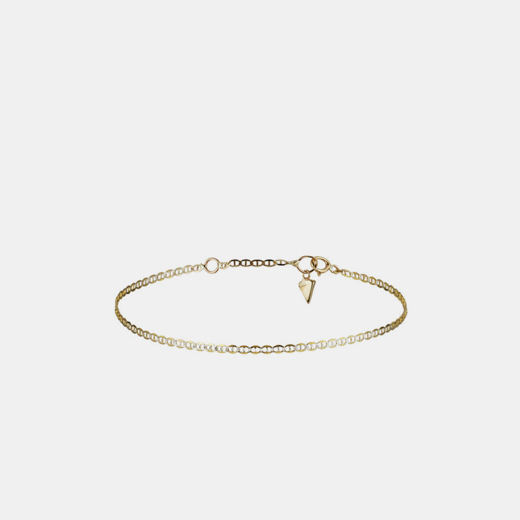 Baby Mariner Chain Anklet