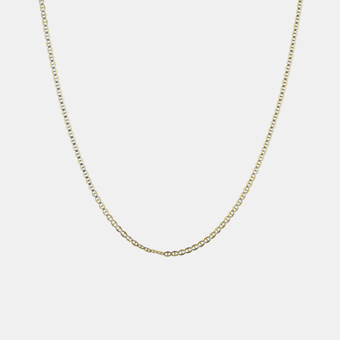 Baby Mariner Chain Necklace - 16""