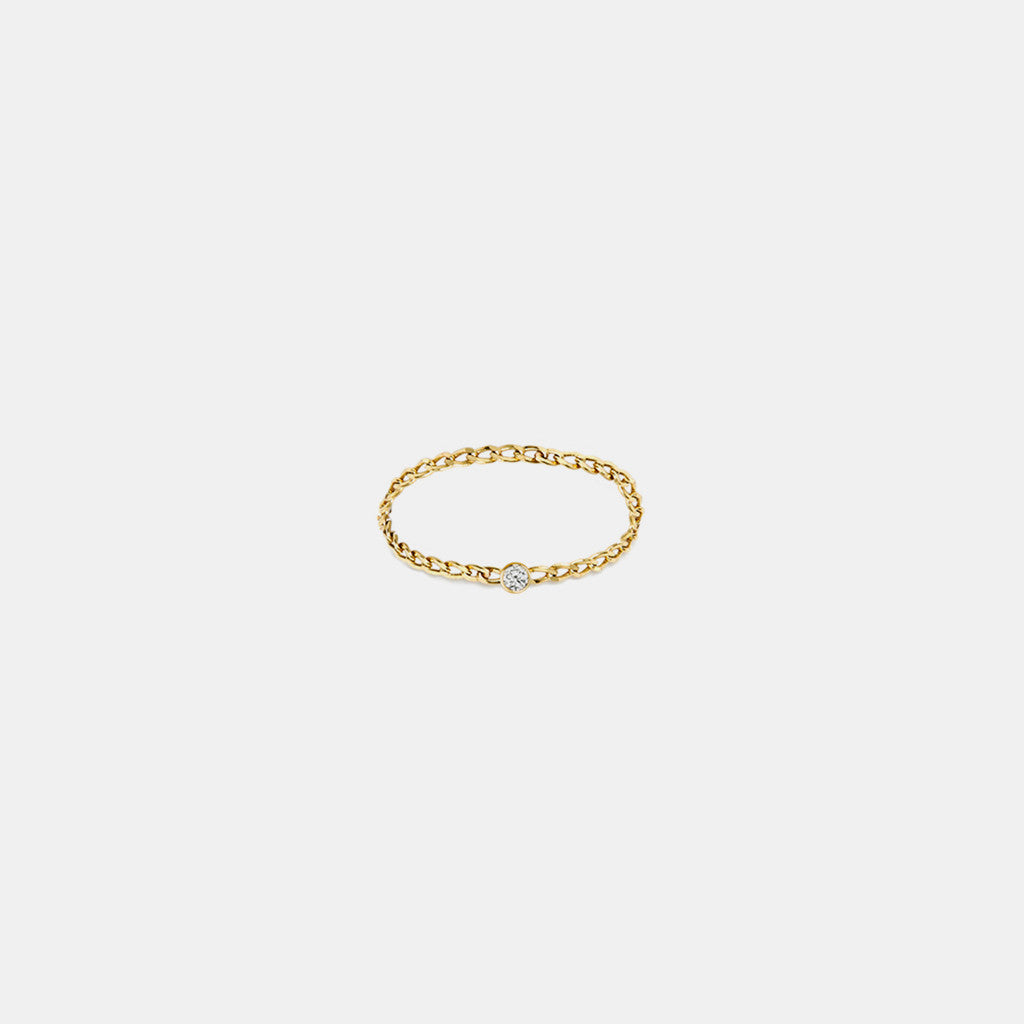 Little Havana Diamond Chain Ring