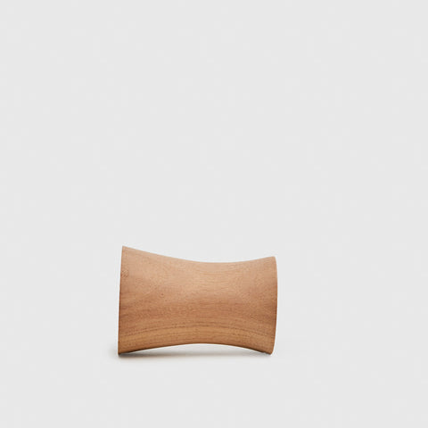 Rounded Wooden Wall Mount