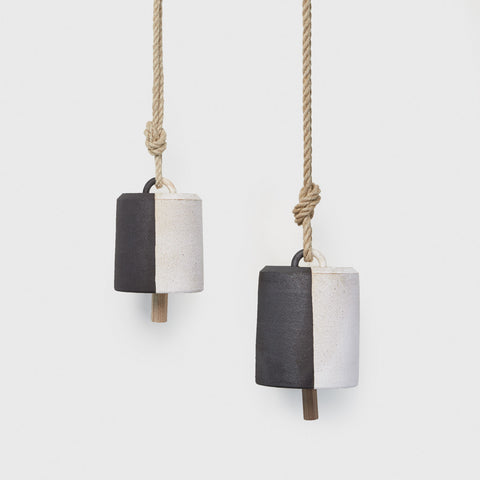 Wide Thrown Bell - Black/White