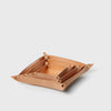 Leather Four Corners Box - Natural