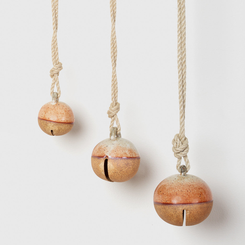 Terracotta Glaze Jingle Bell