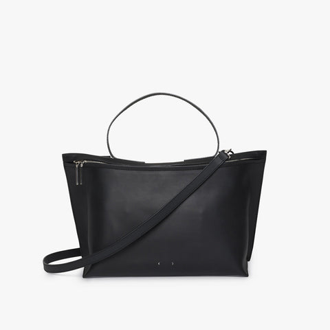 AB 40 Zip Shoulder Bag - Black