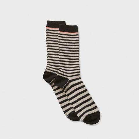 Grand Bisous a Toi Socks - Black/Grey