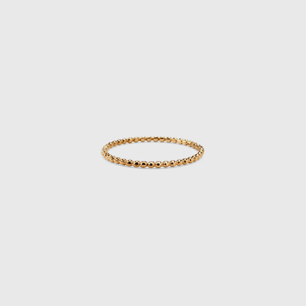 Dot Stack Ring - 18K Gold