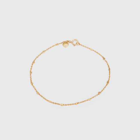Little Gold Fleck Bracelet - 18K Yellow Gold