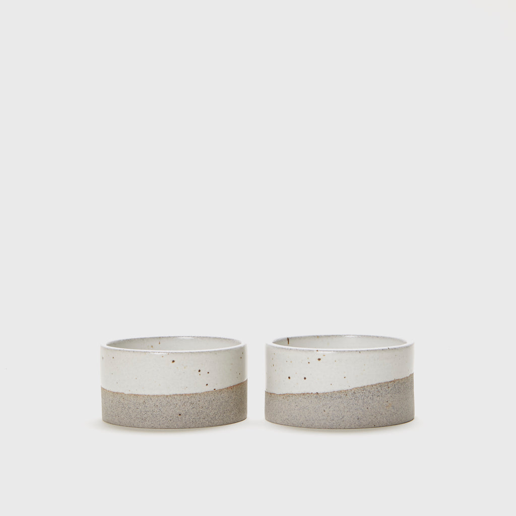 Ramekin Set - Grey/Ivory