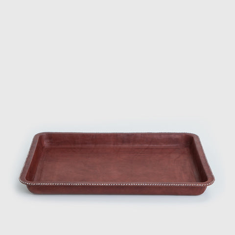 Rectangular Tray - Brown