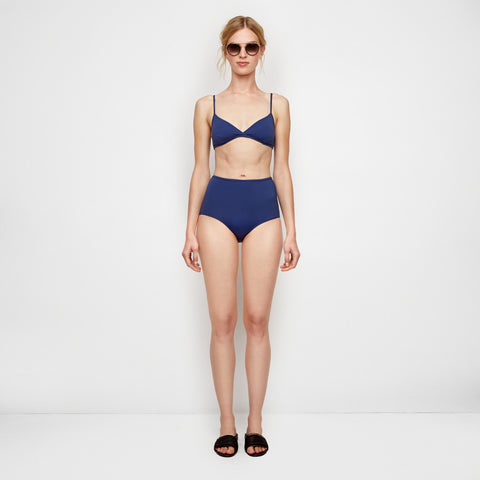 The Brigitte Bikini Bottom - Navy