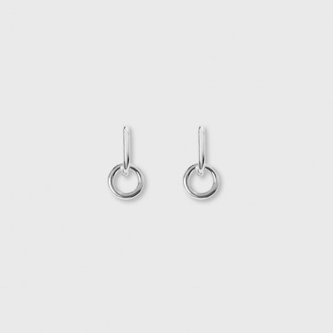 Lobe Earrings - Sterling Silver