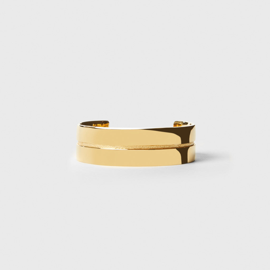 Mapplethorpe 2 Cuff - Gold