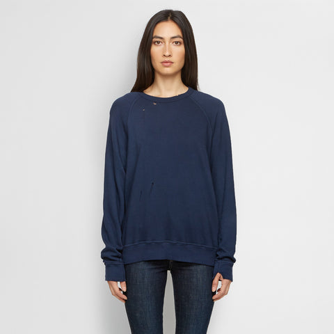 The College Sweatshirt - Navy