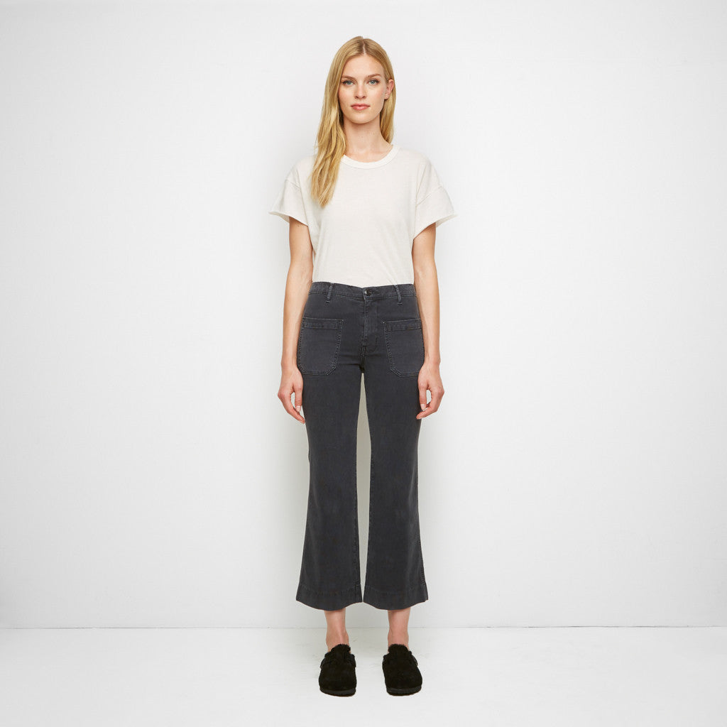 The Cropped Mariner - Washed Black