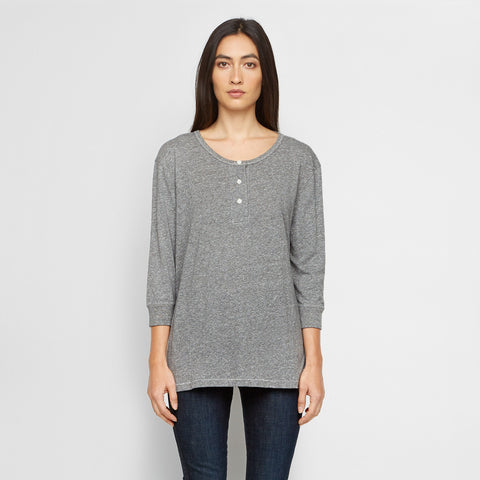 The Long Henley - Heather Grey