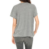 The U-Neck Tee - Heather Grey