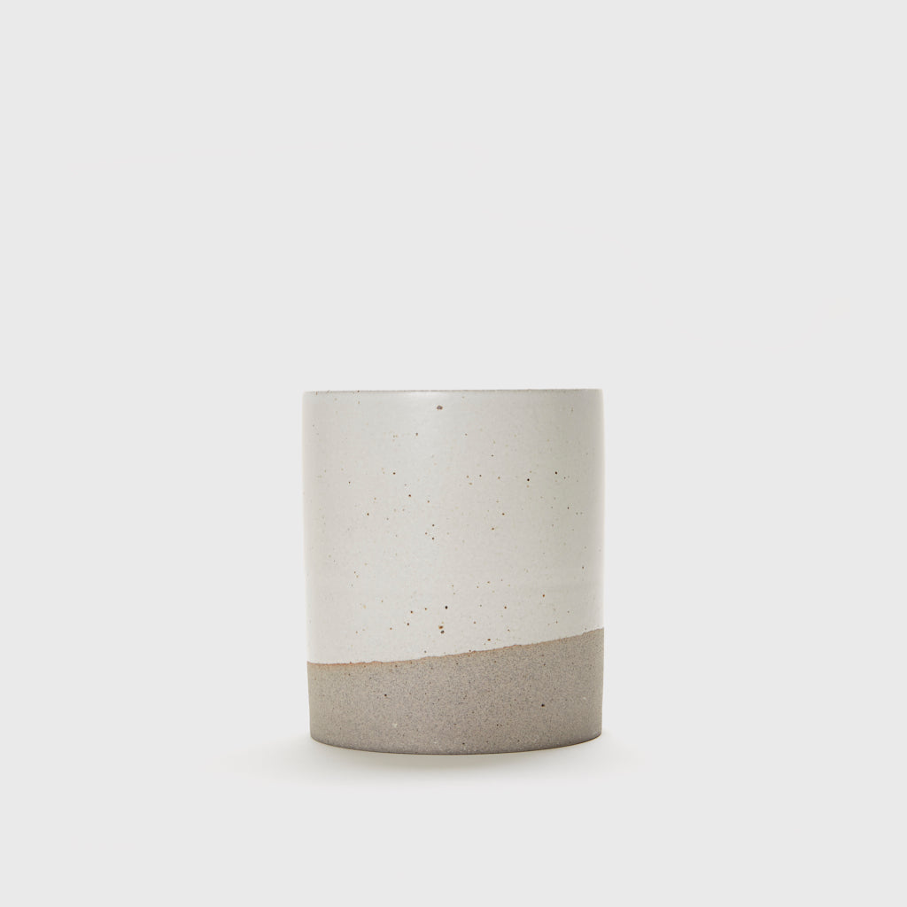 Utensil Holder - Grey/Ivory