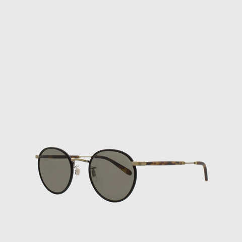 Wilson Sunglasses - Matte Black Tortoise/Pure Grey