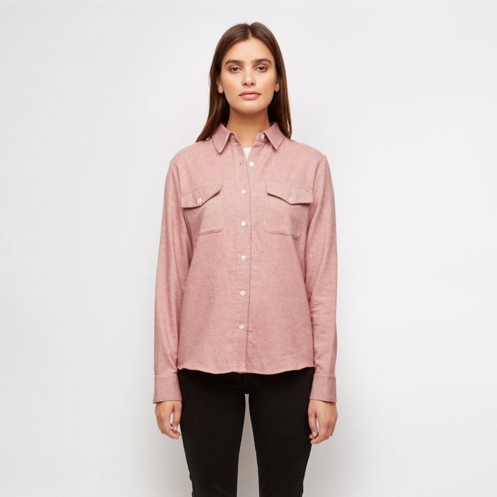 Yak Twill Work Shirt - Blush